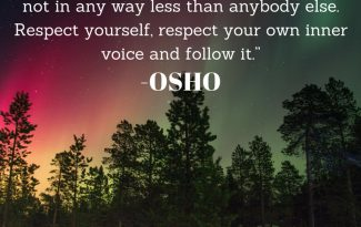 spiritual thought by osho