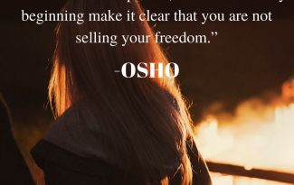 love quote by osho