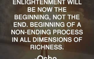 Osho Quotes on Enlightnment