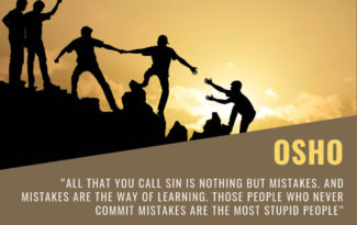 Osho Quotes on Mistakes